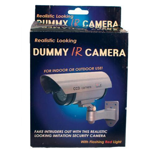 IR DUMMY CAMERA WITH LED
