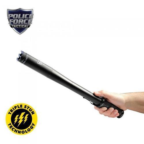 Police Force 9,000,000 Tactical Stun Baton Flashlight