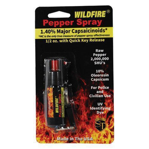 Wildfire 1.4% MC 1/2 oz Belt Clip Pepper Spray
