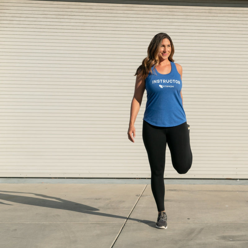FIT4MOM Instructor Tank