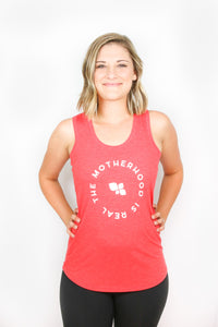 The Motherhood is Real Emblem Tank