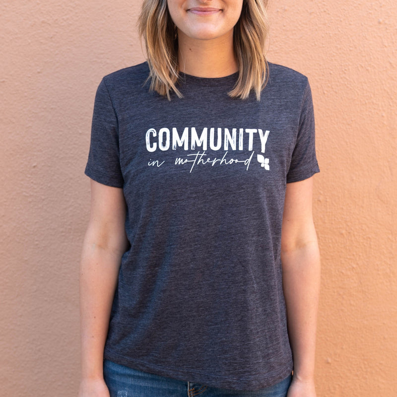 Community in Motherhood Vintage Tee
