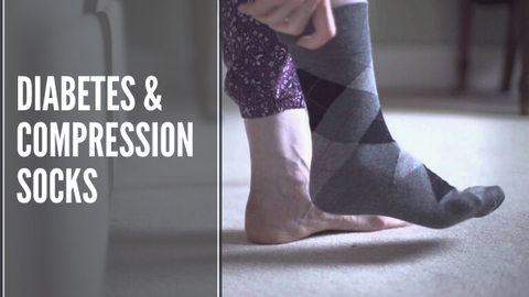 should diabetics wear compression socks