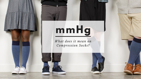 what does mmhg stand for on compression socks