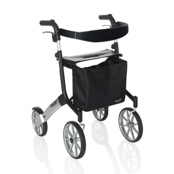 Let's Go Out Rollator Walker - Black - Rollator