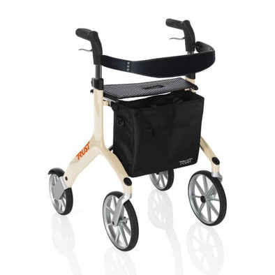 let's fly rollator walker in beige