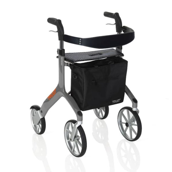 lets fly rollator walker in grey