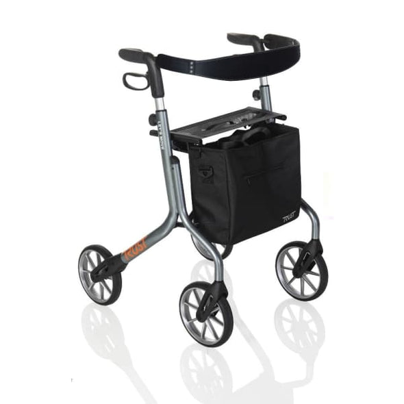 lets move rollator walker in grey