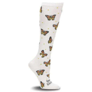 monarch butterfly compression socks