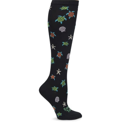 sea turtle compression socks