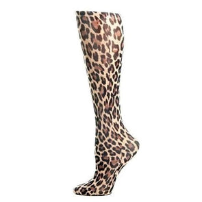 Lightweight Patterned Compression Socks In Leopard - 8-15 Mmhg / Leopard - Compression Socks