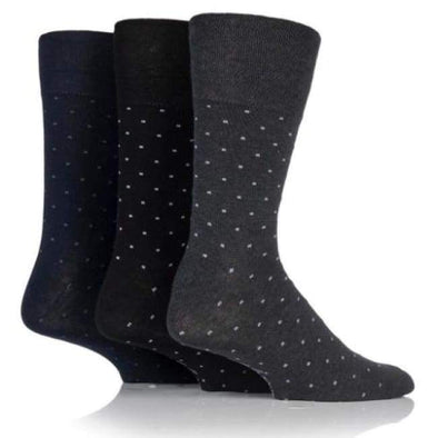 Non Binding Socks For Men Or Women In Micro Dots - Micro Dots - Diabetic Socks