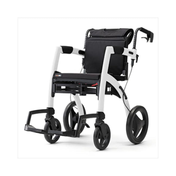 The New Rollz Motion 2 - Rollator Walker And Transport Chair In One - Rollator