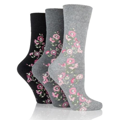 Non Binding Socks For Women In Climbing Rose - Climbing Rose - Diabetic Socks