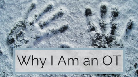 why i am an occupational therapist