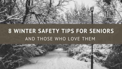 8 winter safety tips for seniors