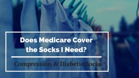 does medicare cover compression or diabetic socks