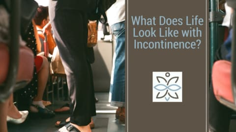 what does like look like with incontinence?