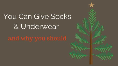 gift socks and undwear