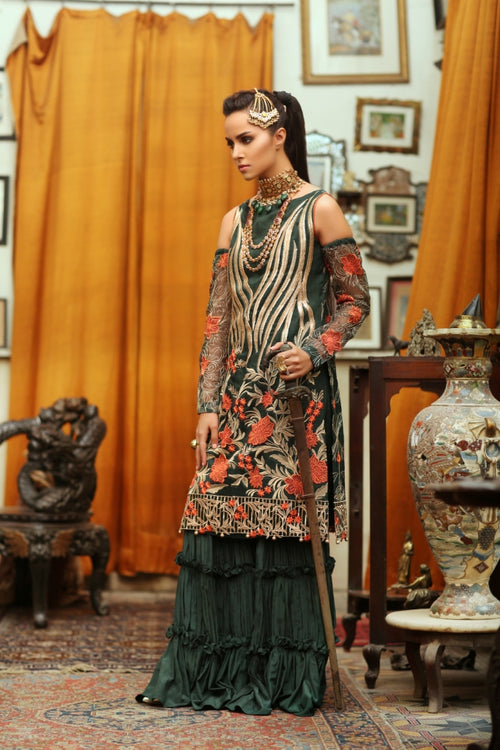 Haniyas, Embroyal | 05 Opulent Green