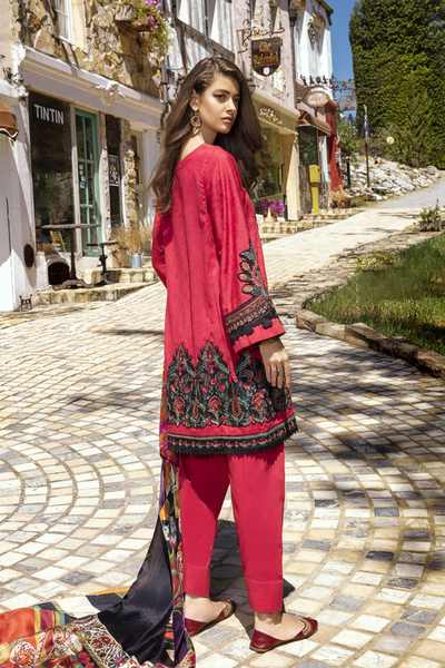 Iznik Luxury Lawn | IL09 Cherry