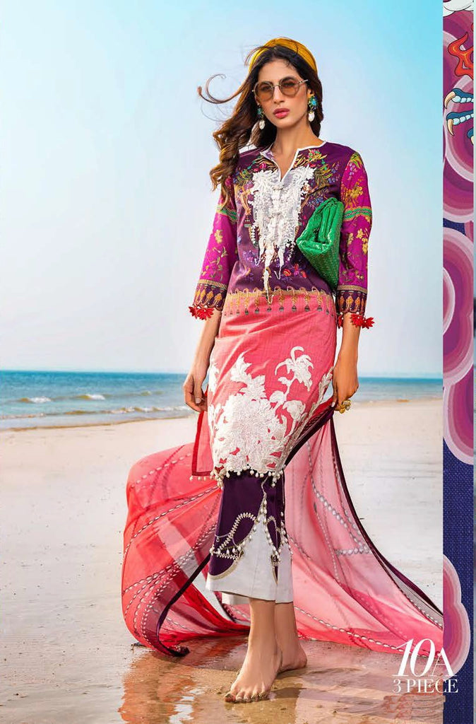 Asim Jofa S/S Lawn Ready To Wear 10A