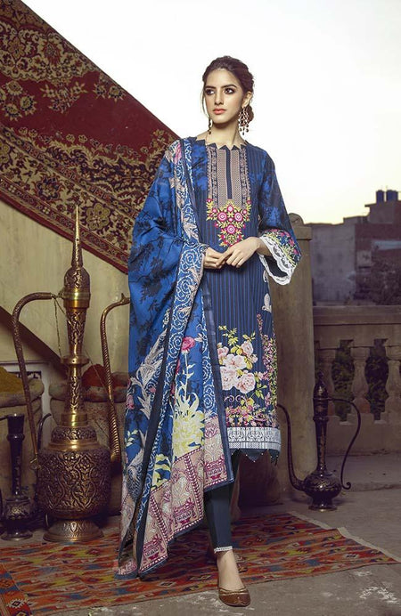 Monsoon Lawn | Al Zohaib Textiles | 05B