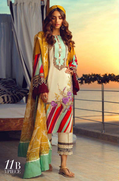 Asim Jofa S/S Lawn Ready To Wear 11B