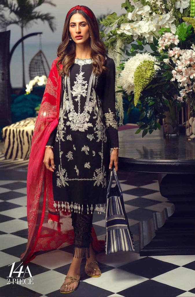 Asim Jofa S/S Lawn Ready To Wear 14A