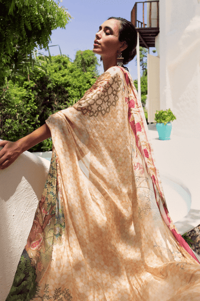 Qalamkar | Luxury Lawn | 16