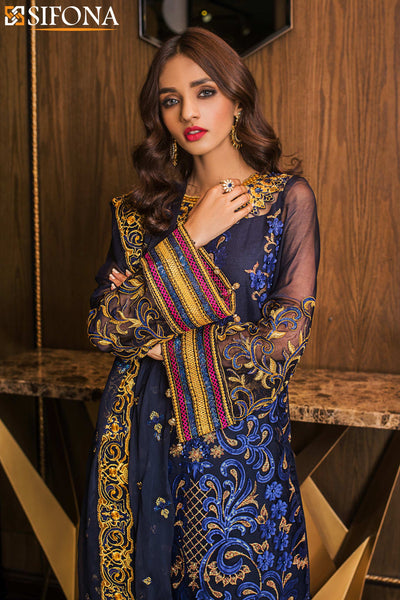 Maria B Mbroidered Eid Ready to Wear D2
