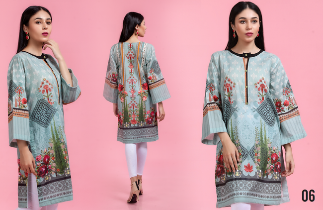 Iznik Winter Linen - Design 2