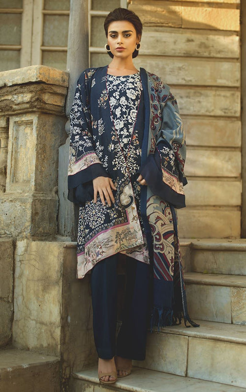 Tena Durrani Winter Shawl D10