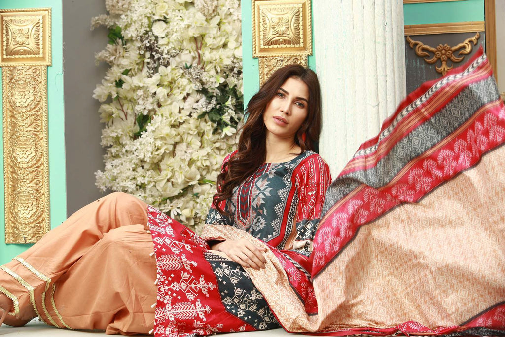 Maria B Mbroidered Ready To Wear Eid D6