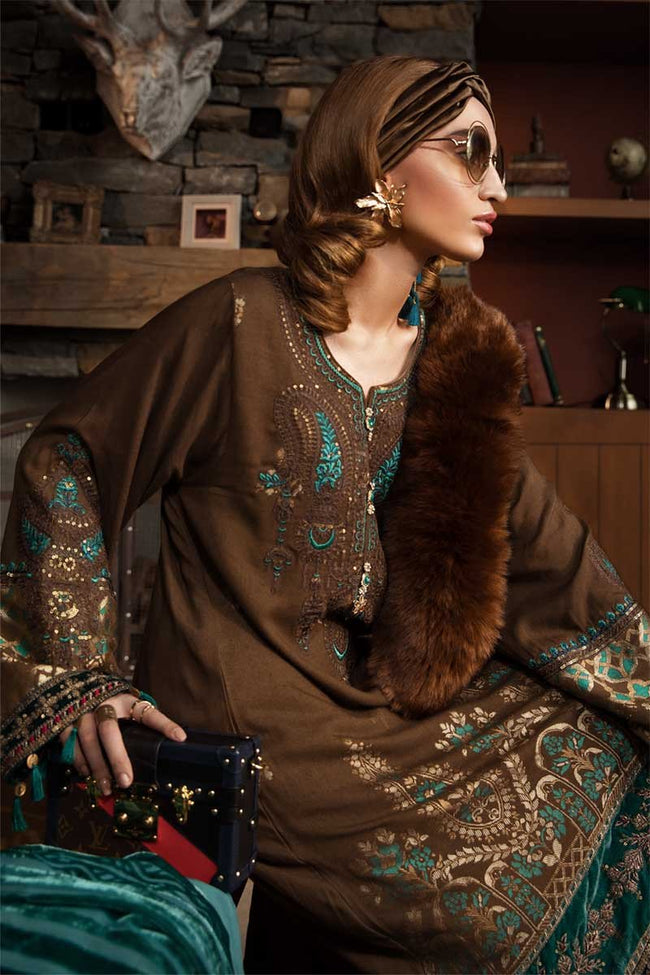 Haniyas, Maria B Linen | DL-702- Brown