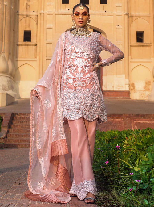 Haniyas, Zainab Chottani | Jamdani Wedding Collection | Mehr