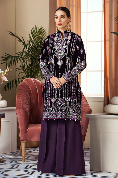 Haniyas, Gulaal Velvet | Wedding Edition | Tribal Frenzy - GV-03 (Purple)