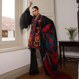 Haniyas, Sana Safinaz Winter Shawl 18 - Design 7A
