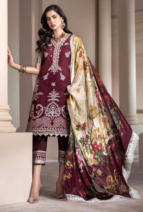 Noor | Luxury Lawn 20 | SILLAGE-D8-B