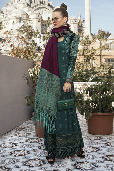 Maria B | Linen 20 | DL-801-Sea Green