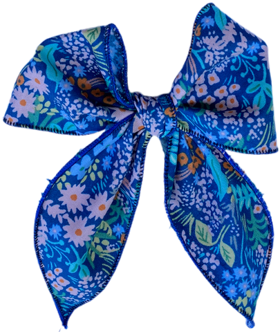 Wildflower Sailor Bow