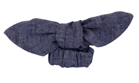 Chambray Top Knot