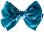 Jade Silk Velvet Limited Edition Midi Bow