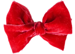 Poppy Silk Velvet Limited Edition Midi Bow