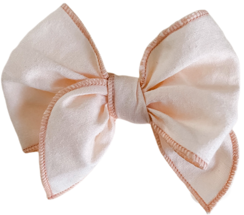 Blush Sailor Bow