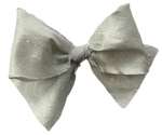Silver Ice Silk Limited Edition Midi Bow