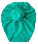 Turquoise Summer Knit Turban