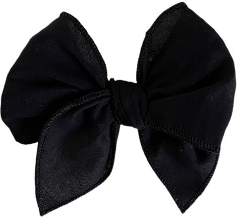 Basic Black Sailor Bow