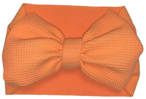 Creamsicle Bow