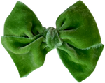 Fern Silk Velvet Limited Edition Midi Bow